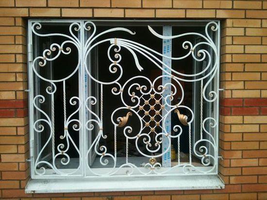 Решетки на окна для квартиры, дома, дачи, с установкой Киев и область