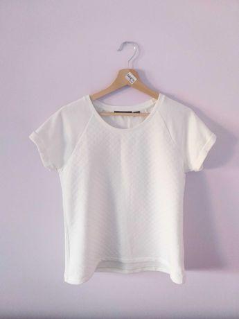 Biała koszulka 36/38 nowa