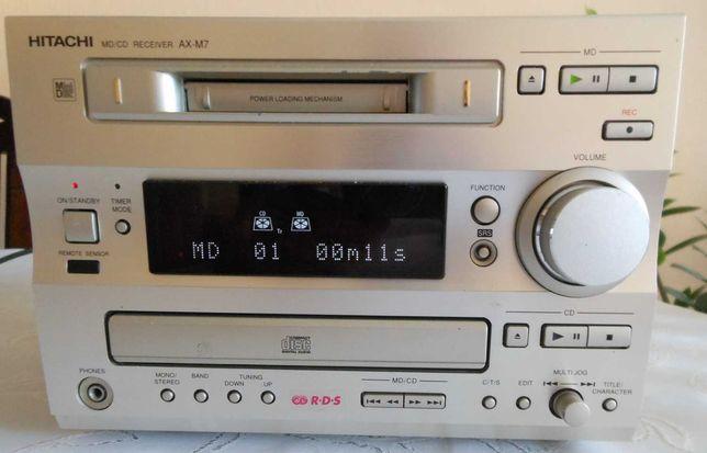 mini wieża Hitachi, minidisc, radio RDS , cd