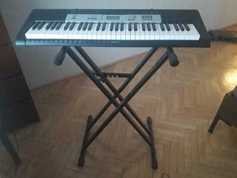 casio ctk 1500 keyboard organy pianino instrumenty prezent jak nowe