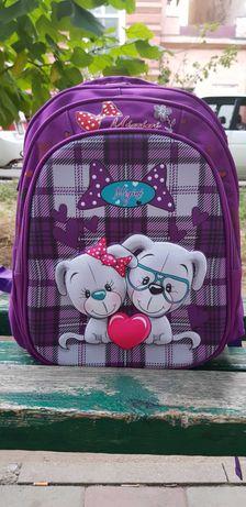 Школьный детский рюкзак для девочек 1-3 класс Galaxy V4