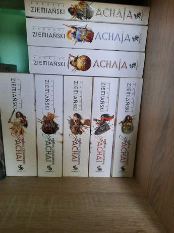 Cała seria Achai Andrzej Ziemiański