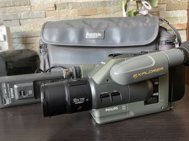 Retro kamera Philips Explorer VHS