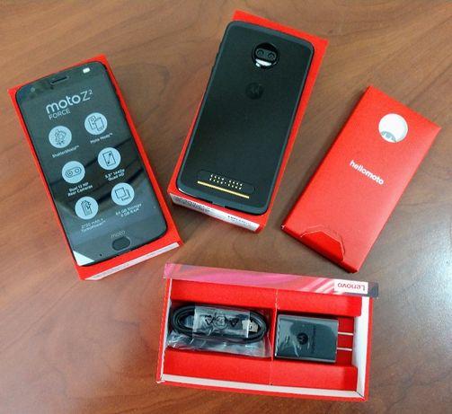 Motorola Moto Z2 Force Just Black 4/64Gb Небьющийся