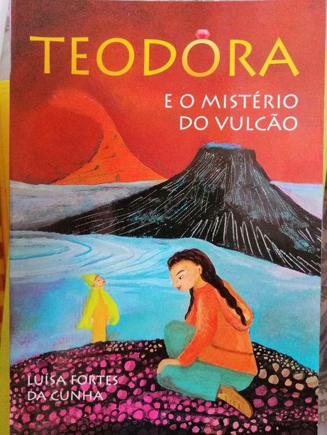 A Teodora e o mistério do vulcão