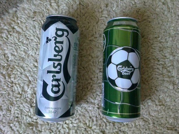 Puszka po piwie Carlsberg Limited UEFA Final The Nordic Spectra