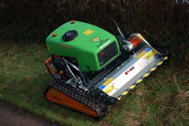 Kosiarka Robot Green Climber, do poboczy, mulczer unimog zamiana