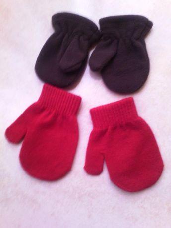 Dois pares de Luvas para bebe recem nascido