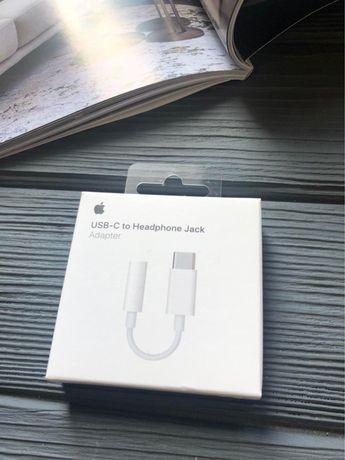 Оригинальный переходник Apple USB-C to 3.5mm/Type-C/Адаптер/