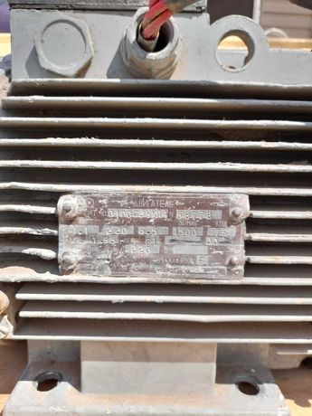 Двигатель пастоянного тока с теристорным регулятором оборотов