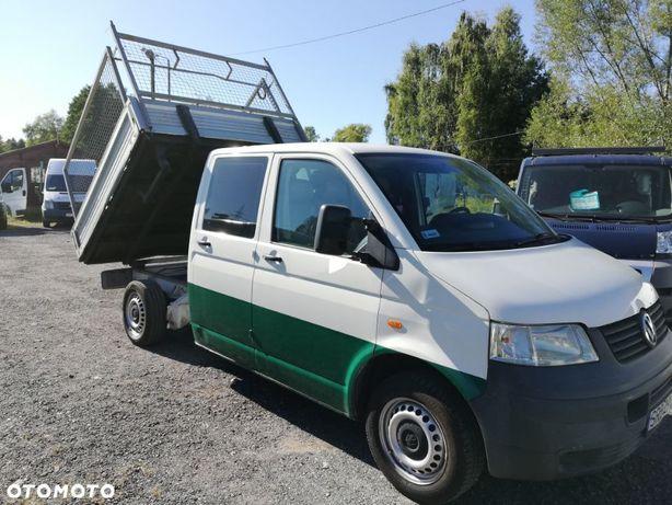 Renault Mascott  VW/T5/1.9 TDI/DOKA/Dubel kabina/KIPER/WYWROTKA/6.Osób/2005r/Vebasto!!!