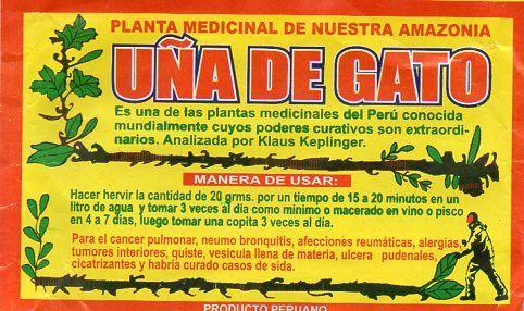 Unha de Gato do Perú