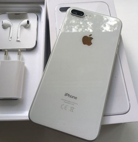 Iphone 8+ Plus 256gb neverlock silver