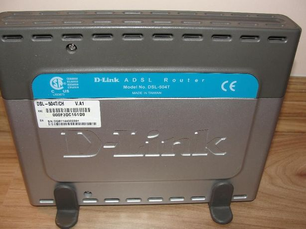 Router D-link model DSL-504T