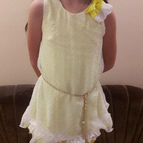 Плаття літнє для дівчинки 7-9 років