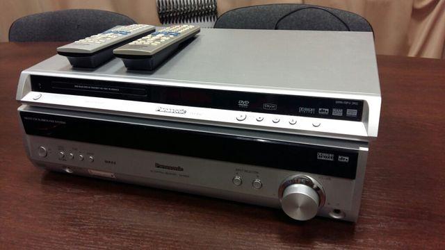 Panasonic Wzmacniacz i odtwarzacz cd dvd