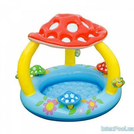 Детский надувной бассейн Грибок Intex 120х89 см