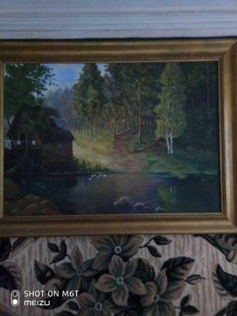Картина ,холст, 120#90