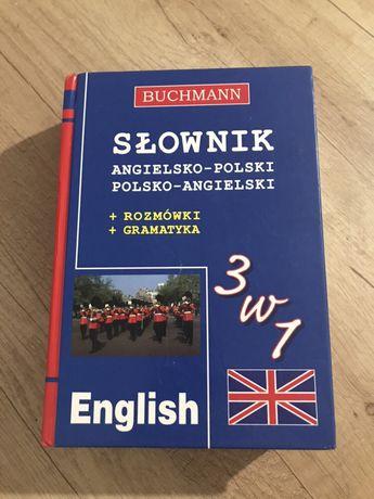 Słownik ang-pol/ pol-ang Buchmann
