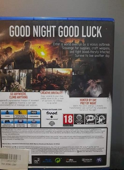 Dying light na ps4 Nowy Sącz - image 1