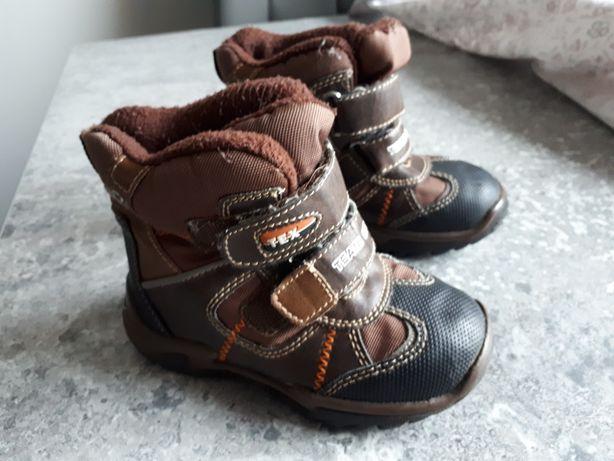 Buty zimowe ocieplane dziecięce