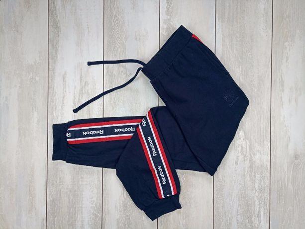 Спортивные штаны reebok с лампассами
