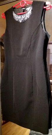 H&M Elegancka Czarna Sukienka 34