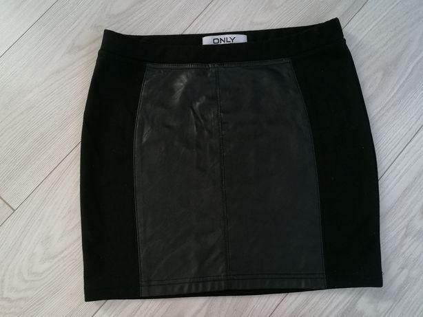 Spódnica czarna mini M