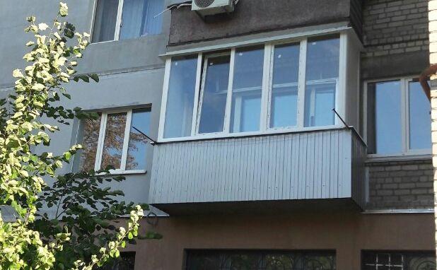 Балконы и Лоджии под ключ. Остекление, вынос, обшивка, французские.