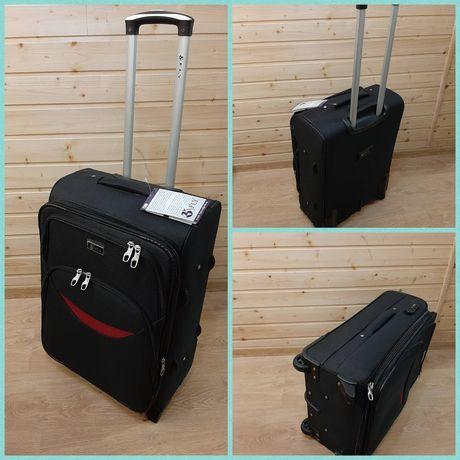 Акция !!!Супер чемодан на двух колёсах среднего размера.