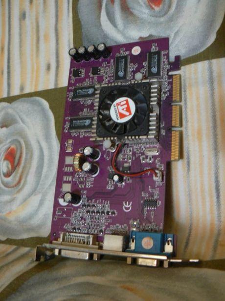 radeon 9200 64 mb и en 6200 ge /td/128m/a видеокарта