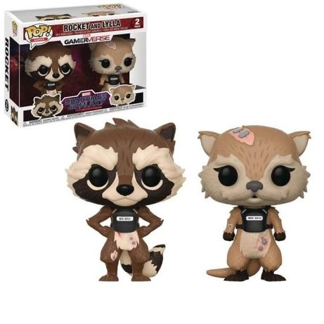 Funko POP Bobble Marvel Guardians of the Galaxy Rocket And Lylla Colle