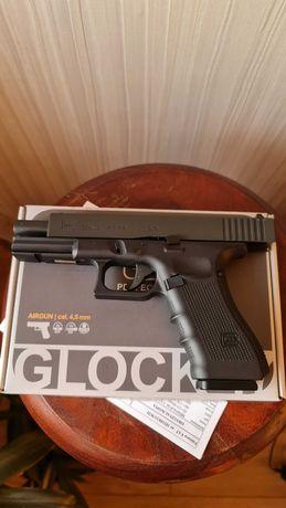 Wiatrówka Glock 17 gen.4 Metal Slide 4,5 mm,gwar 23 -mce ,idealny!!!