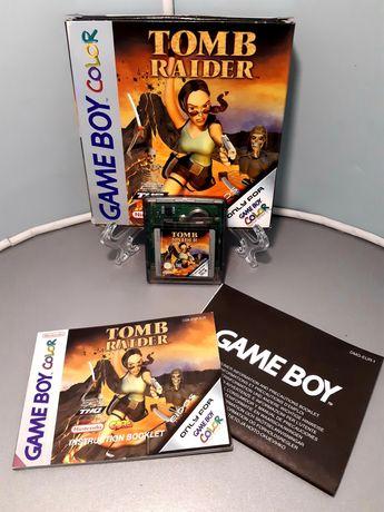Jogo Tomb Raider para o Game Boy Color (CIB, Eidos, selo IGAC)