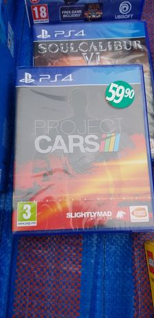 Project cars playstation 4 ps4 nowa folia Pl