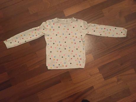Bluzka bluza na wiosnę H&M 134/140