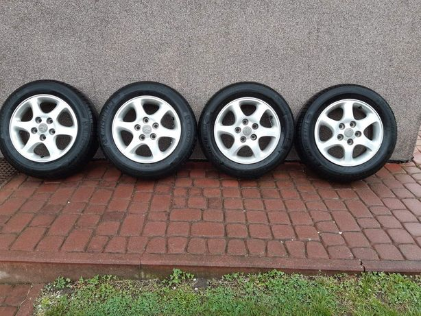 "Koła 15"" 6JJ 5x114,3 Et50 Mazda Enkei Michelin"