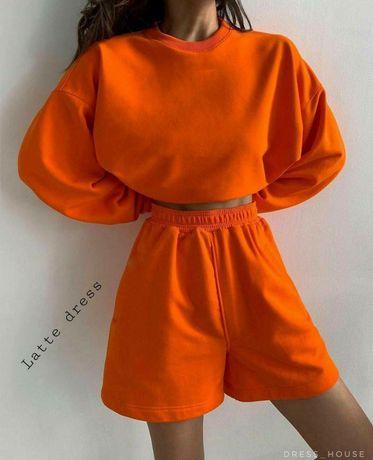 Комплект шорты и худи