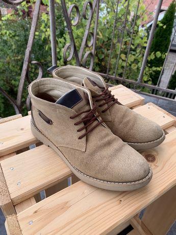 Черевики замшеві, дмисезон \ ботинки осень