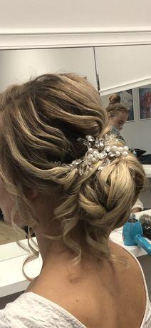 Ozdoba do włosów, ślub wesele