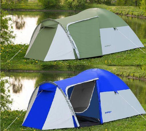 Хит! Туристическая Палатка 4-х местная Monsun 4, 3500 мм, клеенные швы