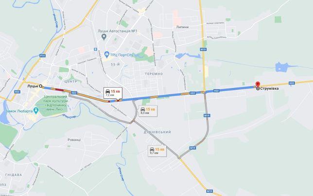Продаж земельної ділянки с. Струмівка