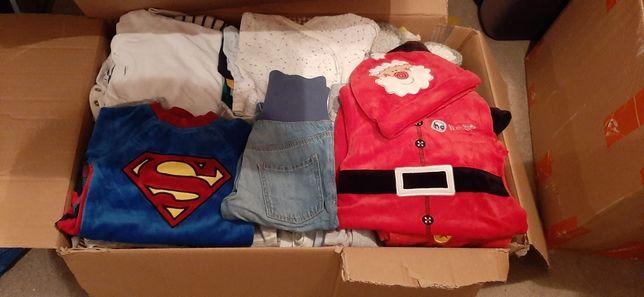 Wyprawka ubranka dla chłopca 56-68 zestaw