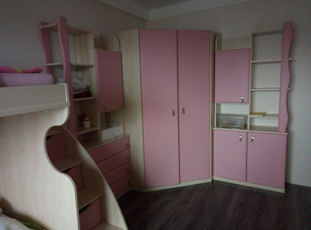 Детская стенка, комната SNITE. Кровать шкаф стол