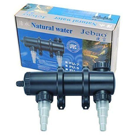 Filtro UV PU-18W Jebao para aquário ou lago. (novo)