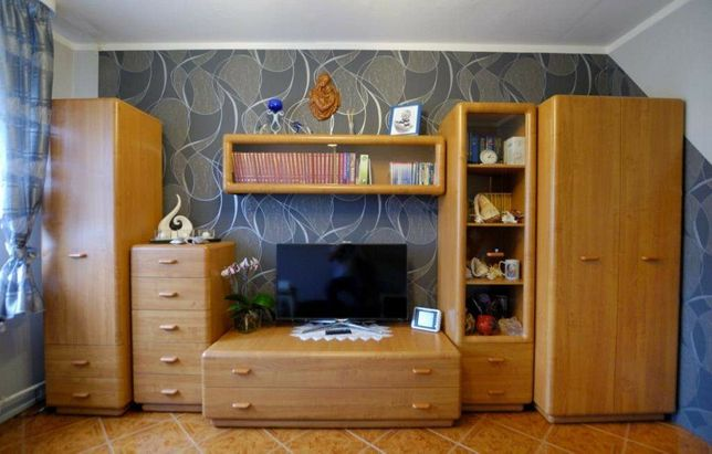 Meble BRW komoda witryna półka rtv łóżko 160x200