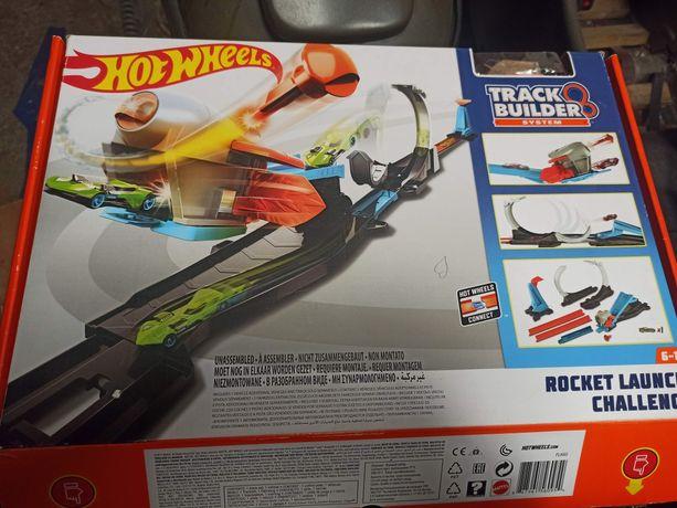 Hot wheels track builder zestaw.