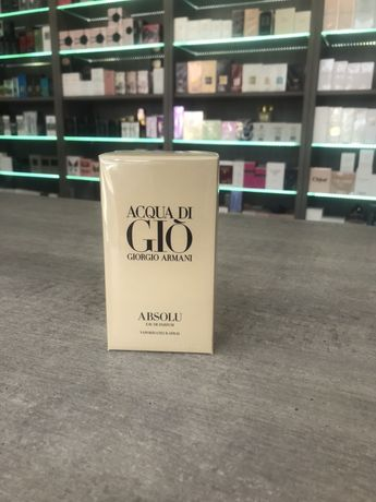 Perfumy Giorgio Armani Acqua Di Gio Absolu edp 75 ml