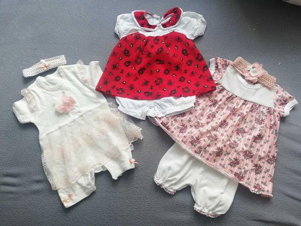 Sukieneczki dla dziewczynki 62