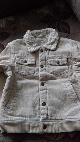 Курточка парка H&M вельветовая